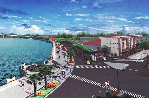 Thủ Dầu Một Bình Dương làm đường Bạch Đằng nối dài chạy ven sông Sài Gòn 600 tỷ đồng