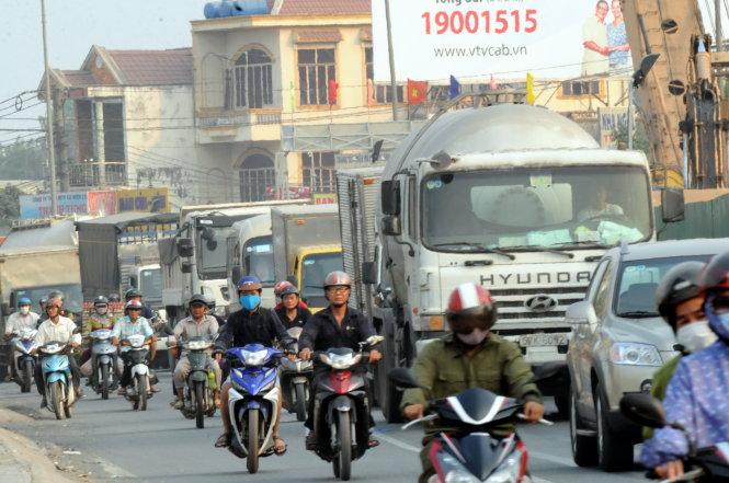 8 điểm nóng kẹt xe tại Đồng Nai
