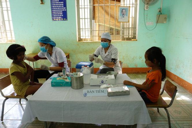 Chưa xác định thời gian dập tắt ổ bệnh bạch hầu ở Bình Phước