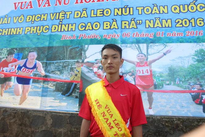 Hoàng Nguyên Thanh đoạt giải Vua leo núi Chinh phục Bà Rá