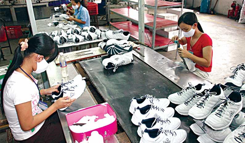 Xuất khẩu da giày hụt hơi